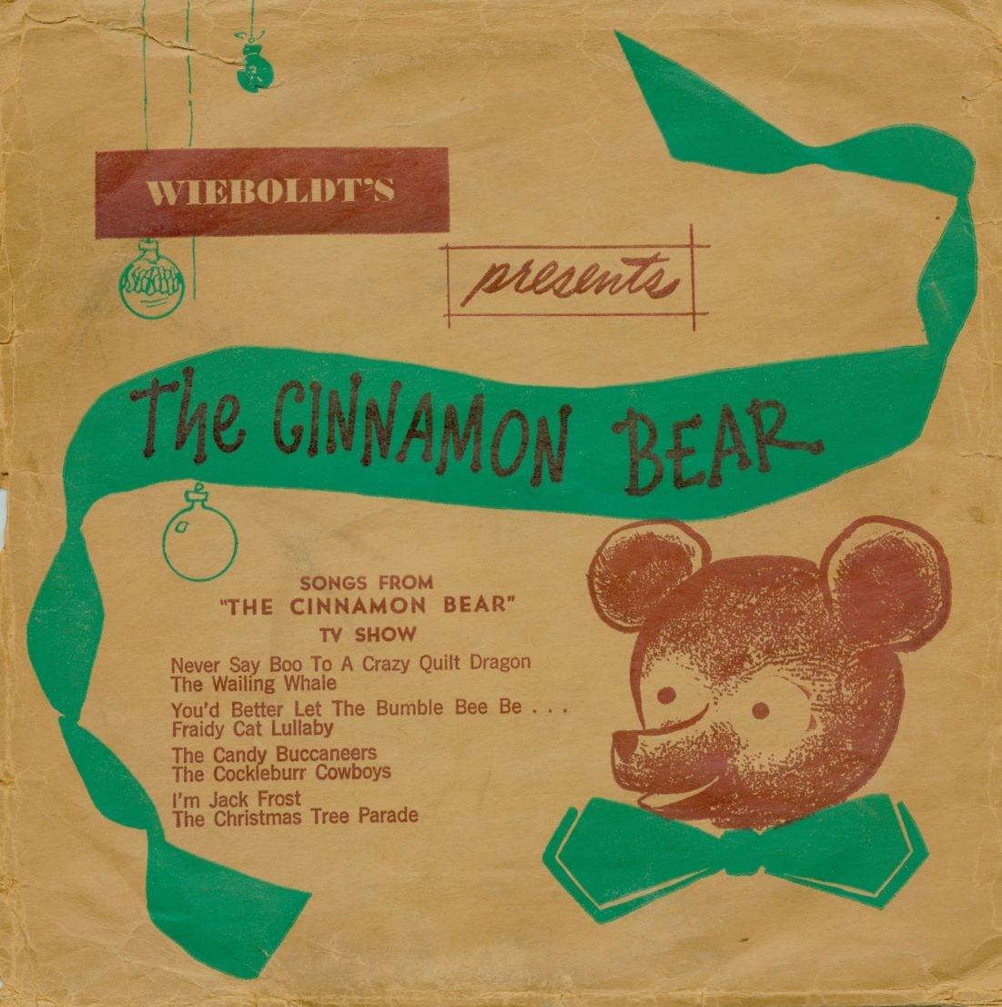 "For children of all ages: Starting the day after Thanksgiving and for 6 days a week until Christmas, tune in to hear the delightful classic children's radio show ""Cinnamon Bear"", followed by ""Jonathan Thomas and his Christmas on the Moon"", Monday through Saturday at 4:30 pm."